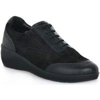 Skor Dam Sneakers Grunland NERO DAPE Nero