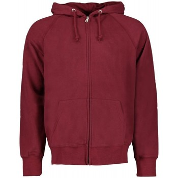 textil Herr Sweatshirts Scout Hooded Zip Sweatshirt (flp2834-bordeau) Bordeaux