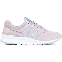Skor Dam Sneakers New Balance 997 Vit, Silver, Rosa