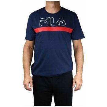 textil Herr T-shirts Fila Men Laurentin Tee Röda, Grenade