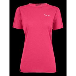 textil Dam T-shirts Salewa Pedroc 3 DRY W S/S TEE 27726-6385 pink