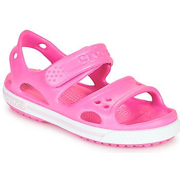 Skor Flickor Sandaler Crocs CROCBAND II SANDAL PS Rosa