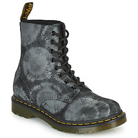 Skor Dam Boots Dr Martens 1460 PASCAL Svart / Grå