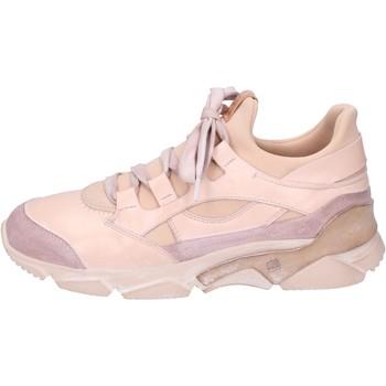 Skor Dam Höga sneakers Moma BK453 Rosa