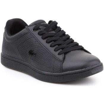 Skor Dam Sneakers Lacoste Carnaby Evo Svarta