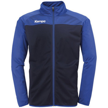 textil Pojkar Sweatjackets Kempa Veste  Prime Poly bleu marine/bleu royal