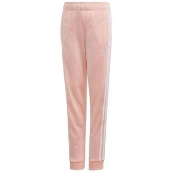 textil Flickor Joggingbyxor adidas Originals Sst Trackpant Rosa