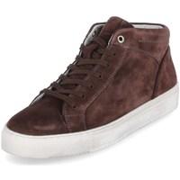 Skor Herr Höga sneakers Sioux 38192 Bruna