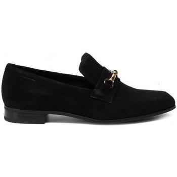 Skor Dam Loafers Vagabond Shoemakers Frances Black Moccasins Svart