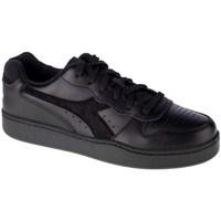 Skor Herr Sneakers Diadora MI Basket Low Svarta