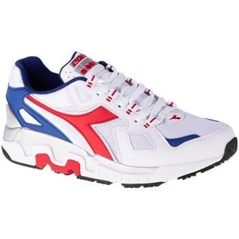 Skor Herr Sneakers Diadora Mythos Vit, Röda