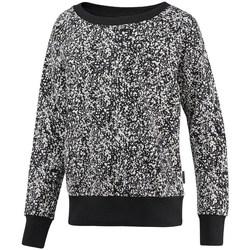 textil Dam Sweatshirts Reebok Sport Crewneck Speckled Vit, Svarta