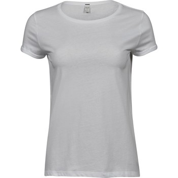 textil Dam T-shirts Tee Jays T5063 Vit