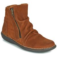 Skor Dam Boots Casual Attitude NELIOO Brun
