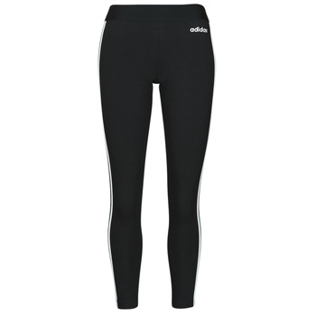 textil Dam Leggings adidas Originals W E 3S TIGHT Svart / Vit