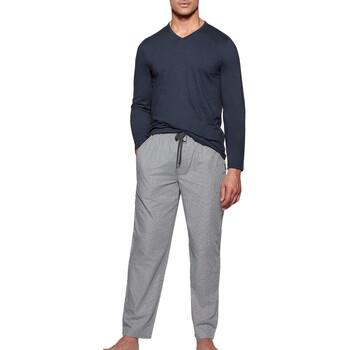 textil Herr Pyjamas/nattlinne Impetus 1523310 E97 Blå