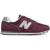 Skor Herr Sneakers New Balance Ml373 d Bordeaux