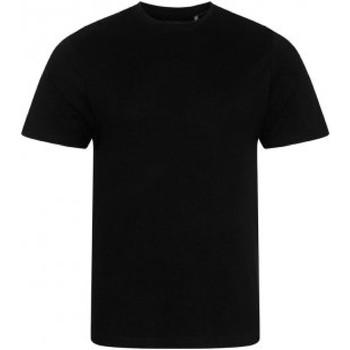 textil Herr T-shirts Ecologie EA001 Jet Black