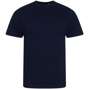 textil Herr T-shirts Ecologie EA001 Marinblått
