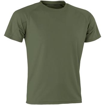 textil Herr T-shirts Spiro SR287 Kamp