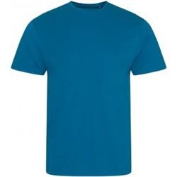 textil Herr T-shirts Ecologie EA001 Bläckblått