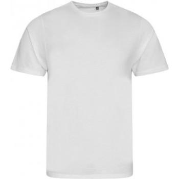 textil Herr T-shirts Ecologie EA001 Arctic White