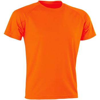 textil Herr T-shirts Spiro SR287 Flo Orange
