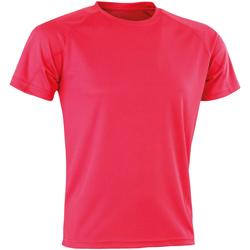textil Herr T-shirts Spiro SR287 Super rosa