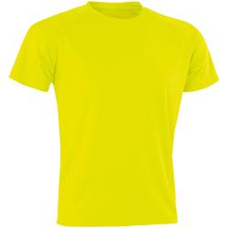 textil Herr T-shirts Spiro SR287 Flo Yellow