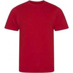 textil Herr T-shirts Ecologie EA001 Eldröd