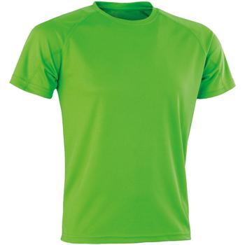 textil Herr T-shirts Spiro SR287 Lime Punch