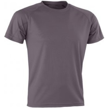 textil Herr T-shirts Spiro SR287 Grått