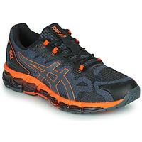 Skor Herr Sneakers Asics QUANTUM 360 6 Svart / Grå / Orange