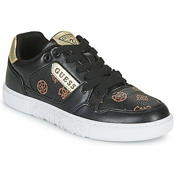 Skor Dam Sneakers Guess JULIEN2 Svart