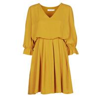 textil Dam Korta klänningar Naf Naf  Gul