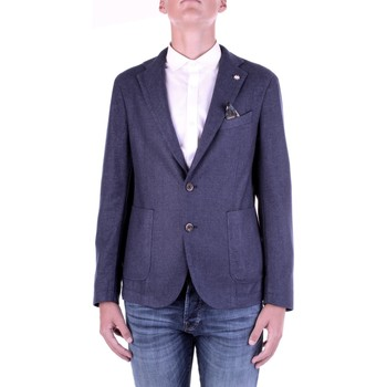 textil Herr Jackor & Kavajer Manuel Ritz 2932G2728TW-203507 Blu