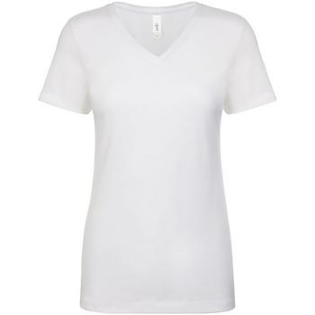 textil Dam T-shirts Next Level NX1540 Vit