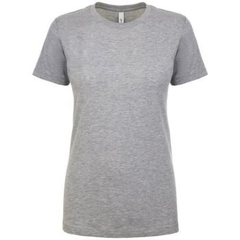 textil Dam T-shirts Next Level NX1510 Grått