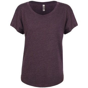 textil Dam T-shirts Next Level NX6760 Vintage lila