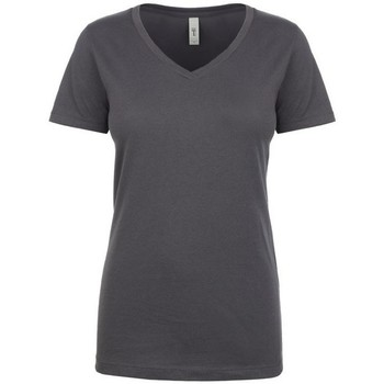 textil Dam T-shirts Next Level NX1540 Mörkgrå