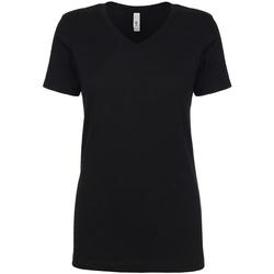 textil Dam T-shirts Next Level NX1540 Svart