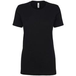 textil Dam T-shirts Next Level NX1510 Svart