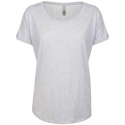 textil Dam T-shirts Next Level NX6760 Heather White