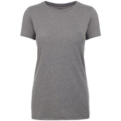 textil Dam T-shirts Next Level NX6610 Mörk grått