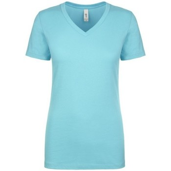 textil Dam T-shirts Next Level NX1540 Tahiti Blå
