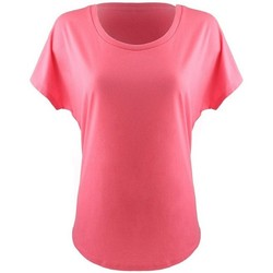 textil Dam T-shirts Next Level NX1560 Varmrosa