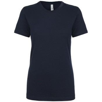 textil Dam T-shirts Next Level NX1510 Marinblått