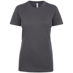 textil Dam T-shirts Next Level NX1510 Mörkgrå