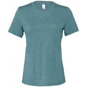 textil Dam T-shirts Bella + Canvas BL6400 Djupt kungsfisk Läder