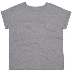 textil Dam T-shirts Mantis M193 Heather Marl